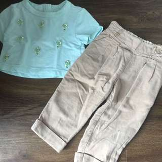 Mothercare + Gingersnaps Outfit for Toddlers