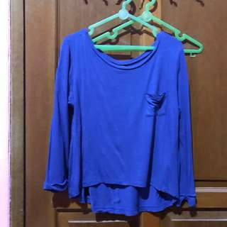 Blue electric t shirt by colorbox