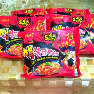 SAMYANG FIRE NOODLES X2 SPICY