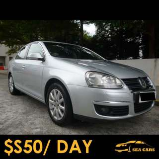Car Rental for Grab/Uber - Volkswagen Jetta