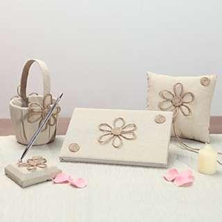 EGS18030 Elegant Beautiful Garden Theme With Linen