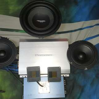 Sound System Mobil
