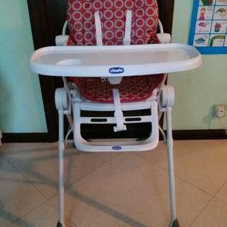 high chair 吃飯高椅(Chicco)