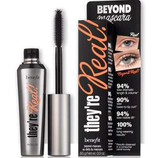 """Benefit """"they're Real!"""" mascara (full size, 50% off!)"""