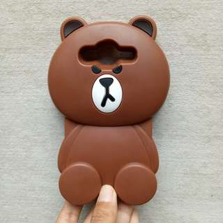 Softcase brown Samsung J2