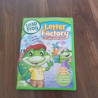 Leapfrog Letter Fatory