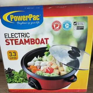 PowerPac Electric Steamboat Pot
