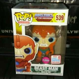 [PRE-ORDER] Flocked Beast Man Masters of the Universe Funko Pop