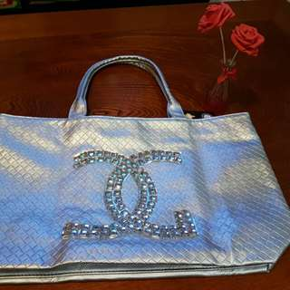 Chanel Inspired Tote Bag