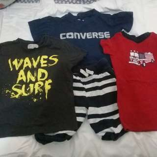 Boy's t shirts 2 years old