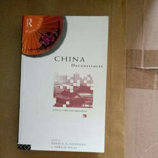 China Deconstructs by David Goodman and Gerald Segal
