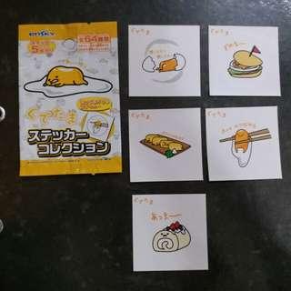 Sanrio gudetama sticker 貼紙