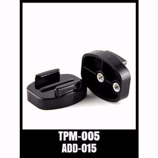 TPM-005 Gopro Accessories Quick Release Base Mount Tripod Adapter