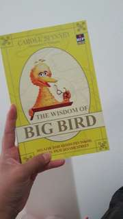 THE WISDOM OF BIG BIRD by CAROL SPINNEY
