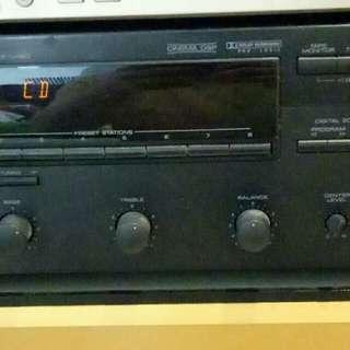 Yamaha Natural Sound Stereo Receiver.