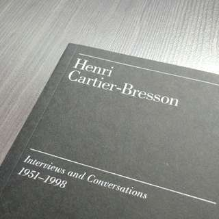 Henri Cartier-Bresson Interviews & Essays 1951-1998