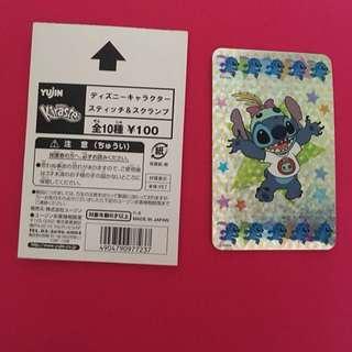 日本史迪仔限量貼紙