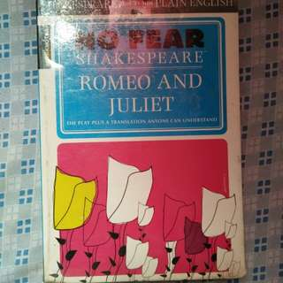 REPRICED! No Fear, Shakespeare: Romeo and Juliet (SparkNotes)