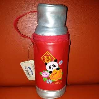 海洋公園 新年 熊貓 水樽套