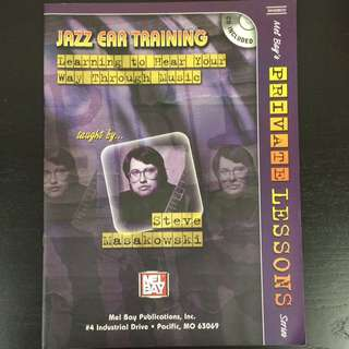 Jazz Ear Training Mel Bay's Private lessons