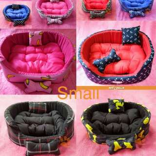Washable Pet Bed Small. Dog Bed. Cat Bed