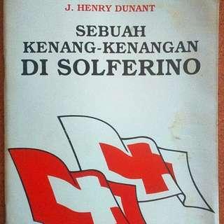 Buku sebuah kenang-kenangan di Solferino.