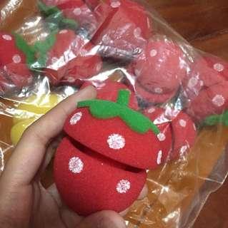 草莓髮捲*10