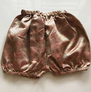Songket Balloon Shorts