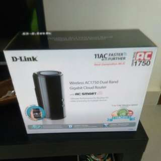 D-Link Router AC1750 Dual band cloud router
