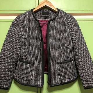 Banana republic knitted blazer