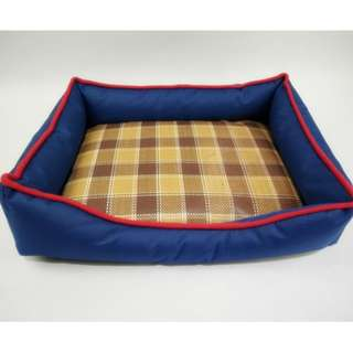 water proof bed dog cat house bedding dogs cat pet blue