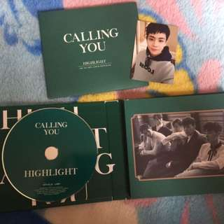 HIGHLIGHT 2ND MINI ALBUM CALLING YOU(包小卡)