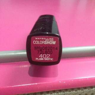 Maybelline Colorshow in Plumtastic