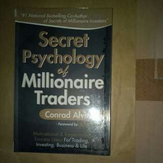 Secret Psychology of Millionaire Traders by Conrad Alvin Lim