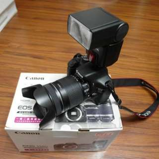 【出售】Canon 550D 數位單眼相機 彩虹公司貨 9成新