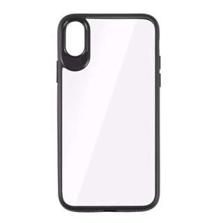IX003 Iphone x Casing case cover Soft TPU edge PC hard back clear
