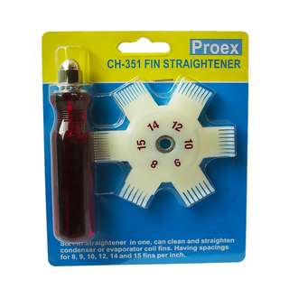 Fin Straightener or Fin Comb for Airconditioners