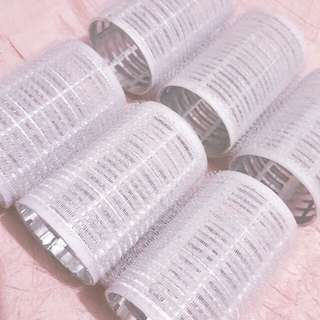 (REPRICED) 6pcs Velcro hair rollers