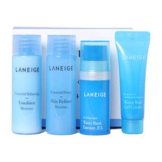 Laneige Water Bank Moisture Care Trial Kit