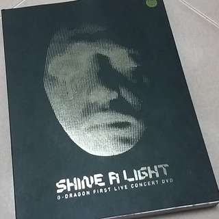 GDRAGON CONCERT DVD - SHINE A LIGHT