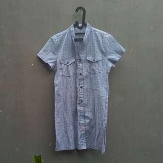 IFA Blue Grid Shirt