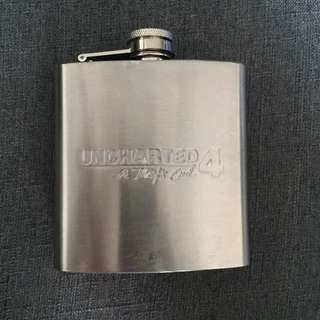 Uncharted 4 Stainless Steel Flask (6oz)