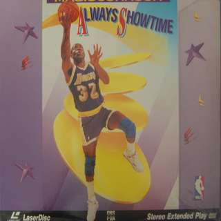 Laser Disc = Magic Johnson