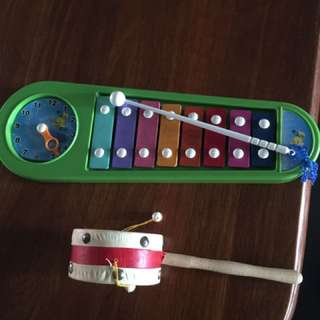 Little Tikes Xylophone and drum