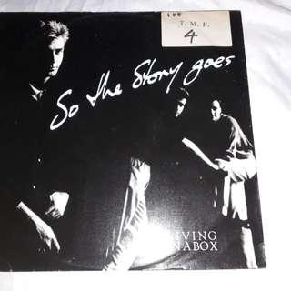 Vinyl record 12' single mix