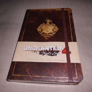 Uncharted 4 A Thief's End Journal not PS1 PS2 PSP PS3 Nintendo Xbox
