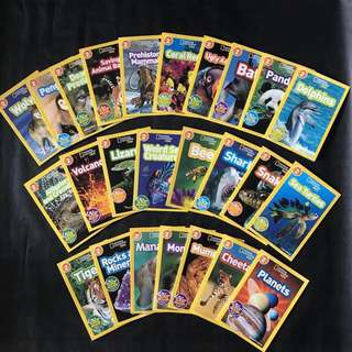 💥NEW-  National Geographic Level 2 Collection 25 Books Set - Children books