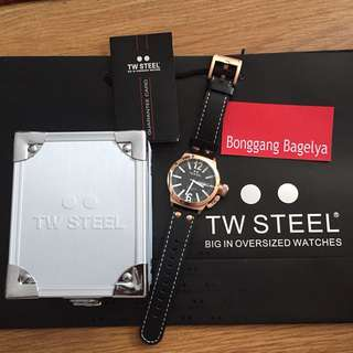Authentic TW Steel Watch