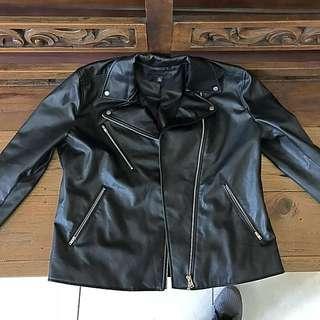 Leather Jacket Uniqlo