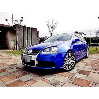 2006 Volkswagen Golf R32 市場稀有 300匹馬力 4傳 安全 熱血配備100%